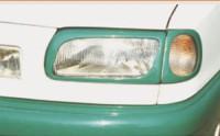 Kryty - rámečky předních světlometů Škoda Felicia -- do roku výroby 1998 (imitace carbon)