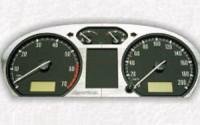Štít palubních přístrojů Škoda Fabia I ALU