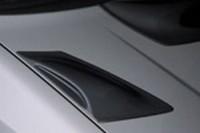 Výdechy kapoty - černé Škoda Octavia II rok výroby 2004-