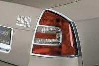 Rámeček zadních světel - chrom Škoda Octavia II rok výroby 2004-