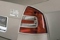 Rámeček zadních světel - černý Škoda Octavia II rok výroby 2004-