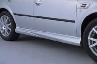 Prahové nástavce - černé Škoda Octavia rok výroby 2001-2004