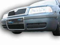 Rámeček chladiče a pod SPZ - chrom Škoda Octavia rok výroby 2001-2004