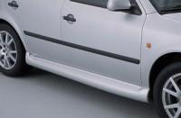 Prahové nástavce - černé Škoda Octavia rok výroby 1998-2001