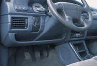 Odkládací schránka levá - šedý desén Škoda Felicia rok výroby 1995-
