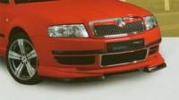 Přední difusor - černý Škoda SuperB