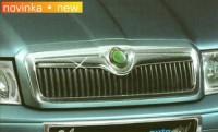 Lišta masky - chrom Škoda Octavia rok výroby 2001-2004
