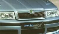 Lišta masky - černá Škoda Octavia rok výroby 2001-2004